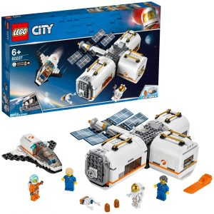 Sets de LEGO de la NASA - Juguete de construcción de LEGO de Estación Espacial Lunar de LEGO City NASA 60227