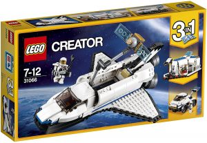 Sets de LEGO de la NASA - Juguete de construcción de LEGO de Lanzadera Espacial de LEGO Creator NASA 31066