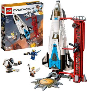 Sets de LEGO de la NASA - Juguete de construcción de LEGO de Overwatch Observatorio Gibraltar de LEGO Overwatch 75975