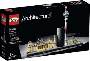 Sets de LEGO de la Puerta de Brandeburgo - Juguete de construcción de LEGO Architecture de la Ciudad de Alemania 21027