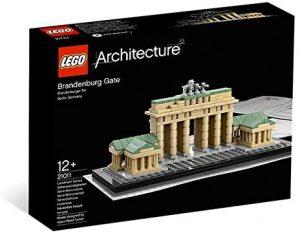 Sets de LEGO de la Puerta de Brandeburgo - Juguete de construcción de LEGO Architecture de la Puerta de Brandeburgo 21011