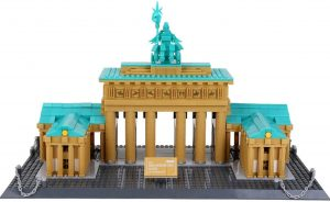Sets de LEGO de la Puerta de Brandeburgo - Juguete de construcción de LEGO Architecture de la Puerta de Brandeburgo de Wange