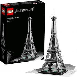 Sets de LEGO de la Torre Eiffel - Juguete de construcción de LEGO Architecture de la Torre Eiffel 21019