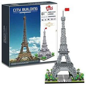 Sets de LEGO de la Torre Eiffel - Juguete de construcción de Nanoblock de la Torre Eiffel