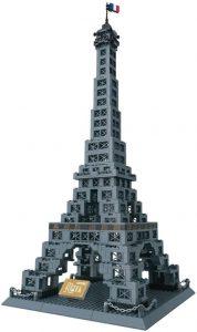 Sets de LEGO de la Torre Eiffel - Juguete de construcción de Wange de la Torre Eiffel