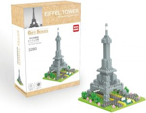 Sets de LEGO de la Torre Eiffel - Juguete de construcción de Wise Hawk de la Torre Eiffel