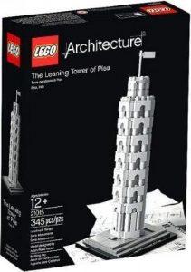 Sets de LEGO de la Torre de Pisa - Juguete de construcción de LEGO Architecture de la Torre de Pisa 21015