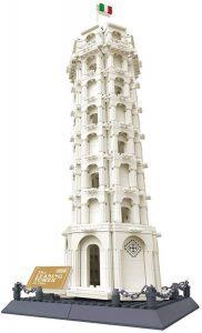 Sets de LEGO de la Torre de Pisa - Juguete de construcción de Wange de la Torre de Pisa