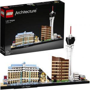 Sets de LEGO de las Vegas - Juguete de construcción de LEGO Architecture de las Vegas 21047