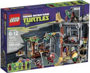 Sets de LEGO de las tortugas Ninja - Juguete de construcción de LEGO de Ataque a la Guarida de Las Tortugas 79103