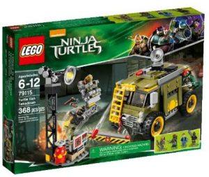 Sets de LEGO de las tortugas Ninja - Juguete de construcción de LEGO de Furgoneta de las Tortugas Ninja 79115