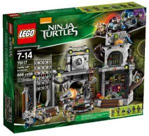 Sets de LEGO de las tortugas Ninja - Juguete de construcción de LEGO de Invasión de las Tortugas Ninja 79117