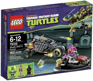 Sets de LEGO de las tortugas Ninja - Juguete de construcción de LEGO de Persecución de las tortugas ninja 79102
