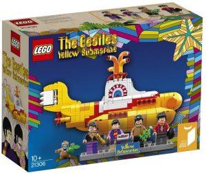 Sets de LEGO de los Beatles - Juguete de construcción de LEGO del Submarino Amarillo de los Beatles 21306