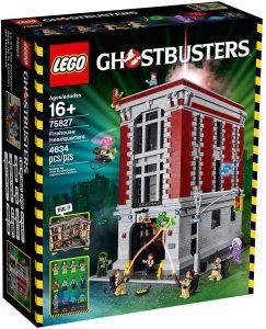 Sets de LEGO de los Cazafantasmas - Ghostbusters - Juguete de construcción de LEGO de la estación de bomberos de los Cazafantasmas 75827 de LEGO