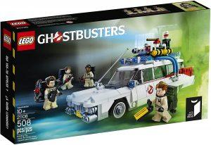 Sets de LEGO de los Cazafantasmas - Ghostbusters - Juguete de construcción de LEGO del coche de los Cazafantasmas 2108 de LEGO Ideas Ecto-1