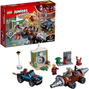 Sets de LEGO de los Increibles - Juguete de construcción de LEGO de los Increibles 10760 Atraco al banco del Socavador