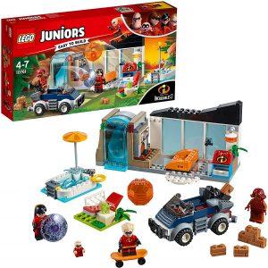 Sets de LEGO de los Increibles - Juguete de construcción de LEGO de los Increibles 10761 Gran huida de casa