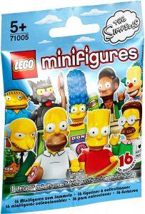Sets de LEGO de los Simpsons - Juguete de construcción de LEGO de Figura de personajes de los Simpsons 2 71005