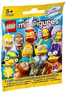 Sets de LEGO de los Simpsons - Juguete de construcción de LEGO de Figura de personajes de los Simpsons 71009