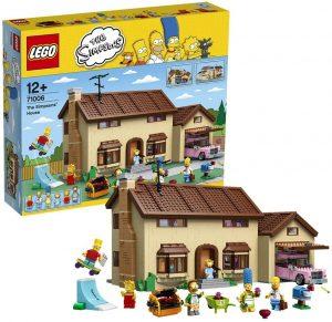 Sets de LEGO de los Simpsons - Juguete de construcción de LEGO de la Casa de los Simpsons 71006