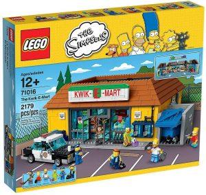 Sets de LEGO de los Simpsons - Juguete de construcción de LEGO del Badulaque de los Simpsons 71016