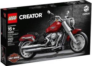 Sets de LEGO de motos y motocicletas - Juguete de construcción de LEGO Creator de Harley Davidson Fat Boy 10269
