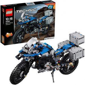 Sets de LEGO de motos y motocicletas - Juguete de construcción de LEGO Technic de BMW R 1200 GS Adventure 42063