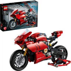 Sets de LEGO de motos y motocicletas - Juguete de construcción de LEGO Technic de Ducati Panigale V4 42107
