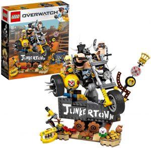 Sets de LEGO de motos y motocicletas - Juguete de construcción de LEGO de Moto de Overwatch 76977
