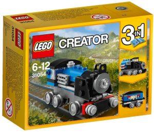 Sets de LEGO de trenes - Juguete de construcción de LEGO Creator Expreso Azul 31054
