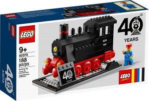 Sets de LEGO de trenes - Juguete de construcción de LEGO de Locomotora 40370