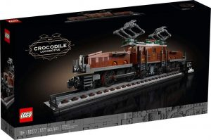 Sets de LEGO de trenes - Juguete de construcción de LEGO de Tren Crocodile Locomotive 10277