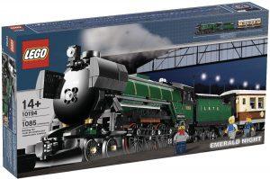 Sets de LEGO de trenes - Juguete de construcción de LEGO de Tren Emerald Night 10194