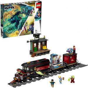 Sets de LEGO de trenes - Juguete de construcción de LEGO de Tren Hidden Side Expreso Fantasma 70424