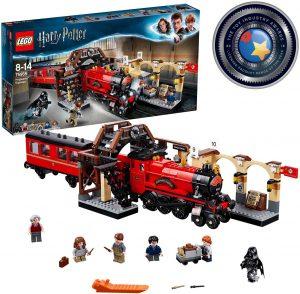 Sets de LEGO de trenes - Juguete de construcción de LEGO de Tren de Expreso de Hogwarts 75955