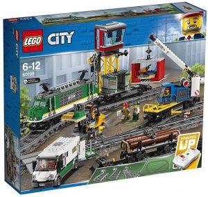 Sets de LEGO de trenes - Juguete de construcción de LEGO de Tren de Mercancías 60198