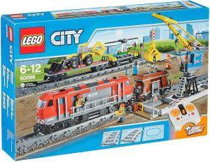 Sets de LEGO de trenes - Juguete de construcción de LEGO de Tren de Mercancías Pesadas 60098
