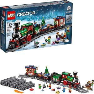Sets de LEGO de trenes - Juguete de construcción de LEGO de Tren de Navidad 10254