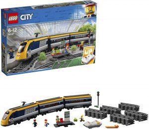 Sets de LEGO de trenes - Juguete de construcción de LEGO de Tren de Pasajeros 60197