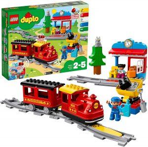Sets de LEGO de trenes - Juguete de construcción de LEGO de Tren de Vapor
