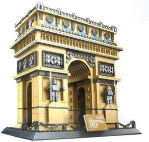 Sets de LEGO del Arco del Triunfo - Juguete de construcción de Wange del Arco del Triunfo