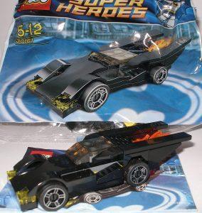 Sets de LEGO del Batmóvil - Batmobile - Juguete de construcción de LEGO de Batman de DC del Batmobile 30161 Batmóvil básico