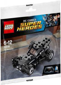 Sets de LEGO del Batmóvil - Batmobile - Juguete de construcción de LEGO de Batman de DC del Batmobile 30446 Batmobile básico
