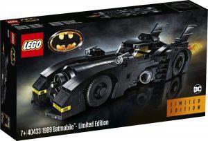 Sets de LEGO del Batmóvil - Batmobile - Juguete de construcción de LEGO de Batman de DC del Batmobile 40433 El Batmóvil de 1989 de Batman Edición Limitada
