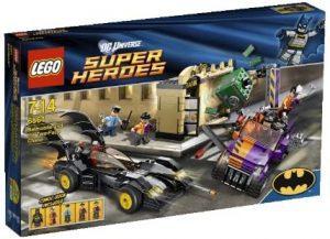 Sets de LEGO del Batmóvil - Batmobile - Juguete de construcción de LEGO de Batman de DC del Batmobile 6864 El Batmovil y la Persecución de Dos Caras