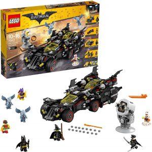Sets de LEGO del Batmóvil - Batmobile - Juguete de construcción de LEGO de Batman de DC del Batmobile 70917 Batmóvil Mejorado