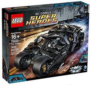 Sets de LEGO del Batmóvil - Batmobile - Juguete de construcción de LEGO de Batman de DC del Batmobile 76023 The Tumbler de la trilogía de Batman de Nolan