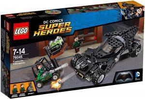 Sets de LEGO del Batmóvil - Batmobile - Juguete de construcción de LEGO de Batman de DC del Batmobile 76045 Intercepción de kriptonita