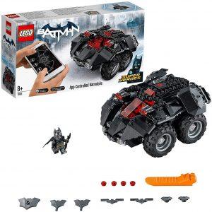 Sets de LEGO del Batmóvil - Batmobile - Juguete de construcción de LEGO de Batman de DC del Batmobile 76112 Batmóvil Controlado por app